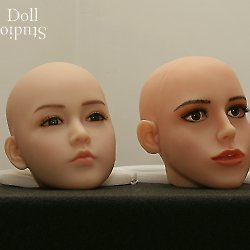 Head comparison: Maid-Fong - DS Sandy - Jennifer - WM No. 31