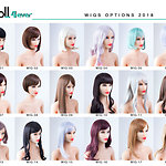 Doll Forever - Wigs (as of 12/2018)