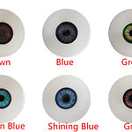 Irontech Doll - Eye colors (as of 12/2018)