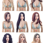 Wigs for female dolls by Irontech Doll (2018)