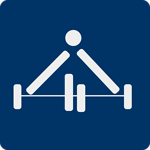 Weight lifting (Pictogram)