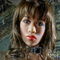 AS Doll head Carrie - TPE